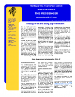 Montoursville Newsletter Fall 2016