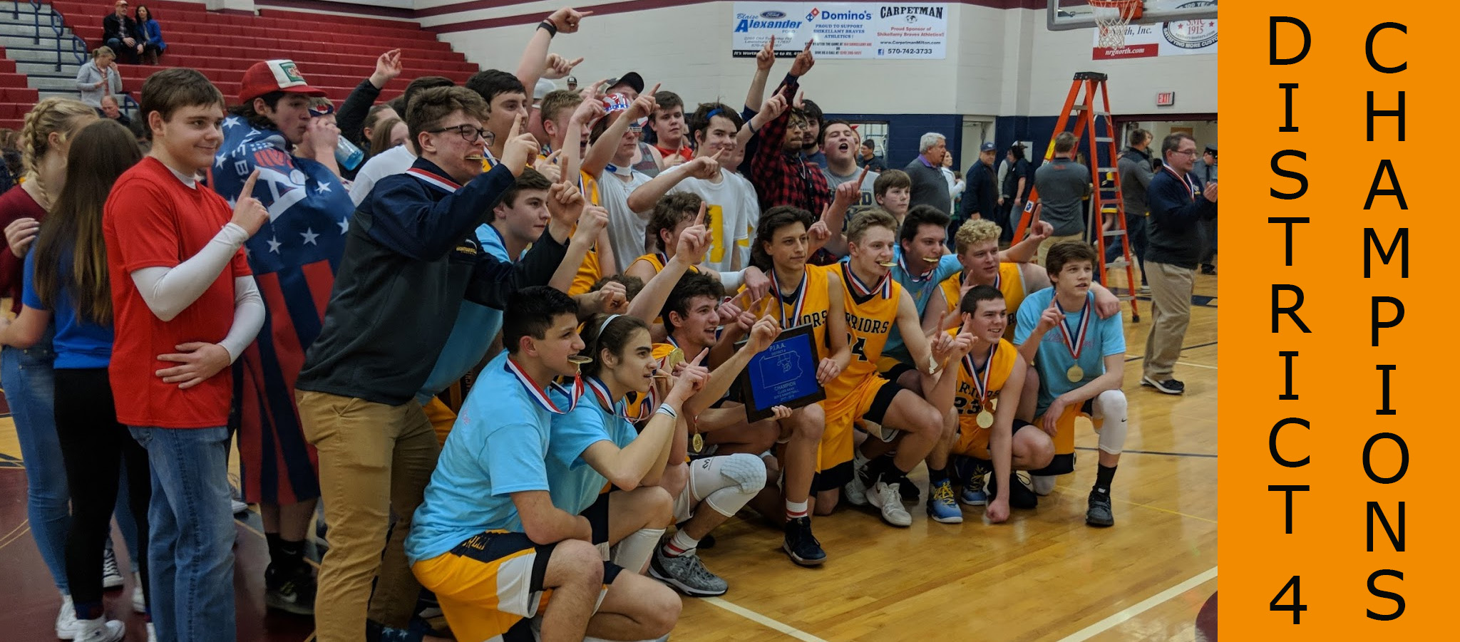 Boys Basketball Champs