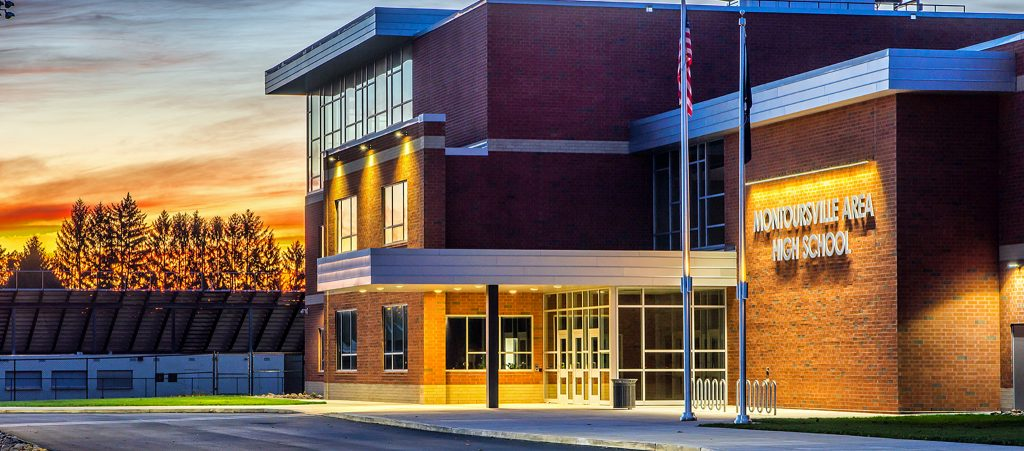 Montoursville High School Sunrise