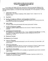 151207 PUBLIC BOARD ORGANIZATIONAL MEETING AGENDA