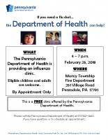 NC Lycoming Flu Clinic Muncy Twnshp Fire Dept_2.26.18
