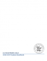 McCall Student Handbook 2018-2019