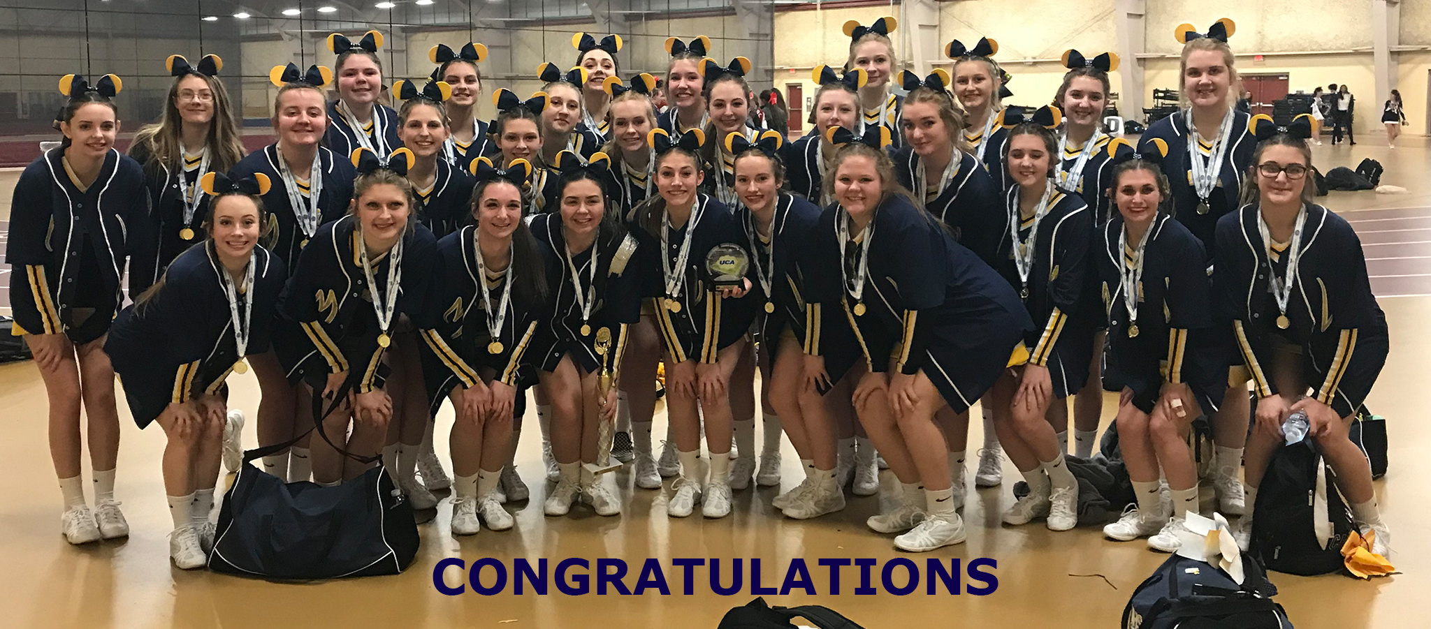 Cheer Qualifies for Nationals at Disney