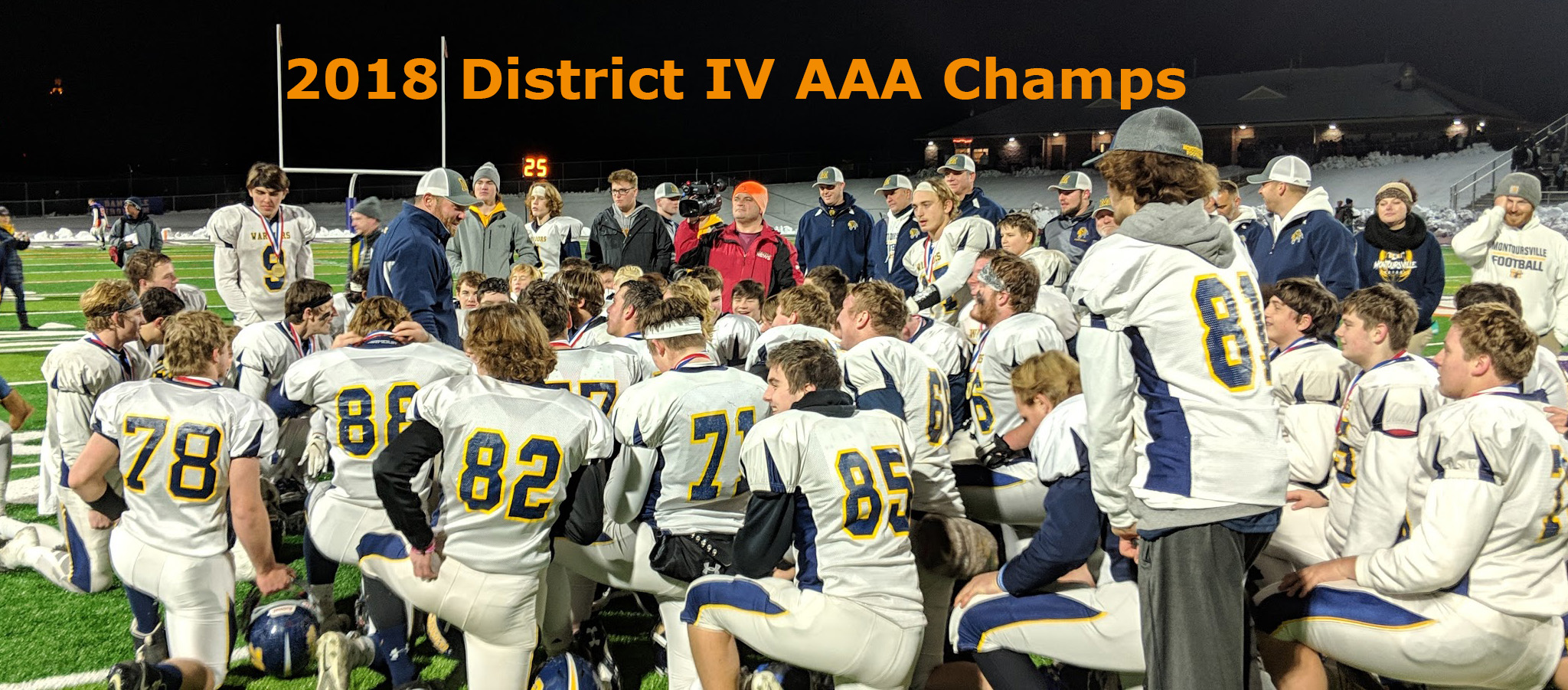 District IV AAA Football Champions